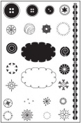 Whimsy Clear Unmounted Rubber Stamp Set