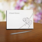 Lenox Fine Silver - True Love - Guest Book With Pen