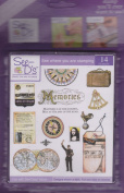 See D's Travel 14 Rubber Stamps + Case # 50220 Inque Boutique Sugarloaf