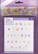 See D's Kid's Lowercase Alphabet 28 Rubber Stamps W/Case # 50086 Sugarloaf