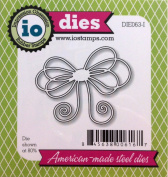 Impression Obsession io Steel Die # DIE063-I Large Bow US American Made