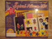 Acid Free Scrapbooking Spiral Album Kit