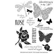 Garden Faire Clear Unmounted Rubber Stamp Set