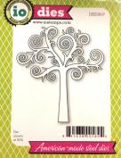 Impression Obsession io Steel Die # DIE036-P Swirl Tree US American Made
