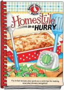 Gooseberry Patch Homestyle In A Hurry Cookbook