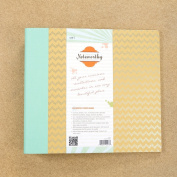 Sew Easy Industries 3-Ring Noteworthy Creative Memory Journal, 30cm by 30cm , Trendy