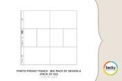Becky Higgins Photo Pocket Pages - Big Pack of Design A