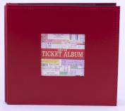 Red Deluxe Ticket Album