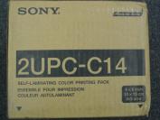Sony Self Laminating Colour Print Pak for UPCR10L 4X6 400CT 2 Rolls/ribs