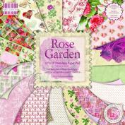 Premium Paper Pad 30cm x 30cm 48/Sheets-Rose Garden
