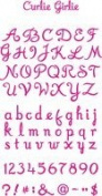 Ellison Design Thin Cuts Alphabet - Curlie Girlie
