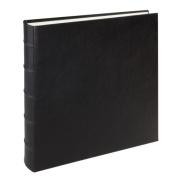 Large Genuine Italian Leather Bound Album,100 Pages, Photo Squares Included, 33cm - 0.3cm x 33cm