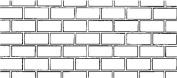 BonWay 32-251 90cm by 335-Feet Paper Stencils for Decorative Concrete, Running Bond