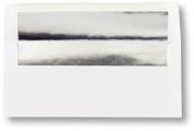 Image Shop AEN903 Silver Foil Lined White No. 10 Envelope