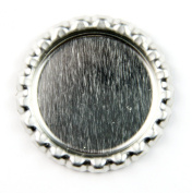 Bottle Caps (flat chrome) 200 pack by Annie Howes