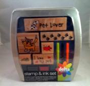Pet Lover Stamp & Ink Set