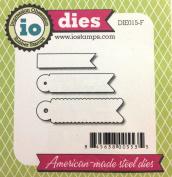 Impression Obsession io Steel Die Set # DIE015-F Flags US American Made