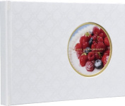 Nakabayashi window without cover enamel cross gift album (white) / A5 A H-A5B-201-W