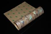 White Paua Shell Flexible Adhesive Veneer