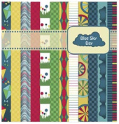 Kite Tails Designs Blue Sky Day Scrapbooking Kit