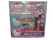 2 in 1 Hello Kitty Cards & Stamps Set