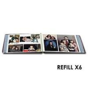 Pioneer Refill Pages for the JMV-207 Post Bound Magnetic Album, 6 packs of 5 sheets each