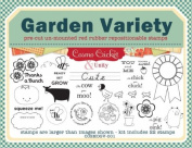Unmounted Red Rubber Stamps