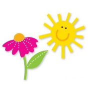Accucut Zip'eSlim Die - Dreamy Daisy & Sunshine