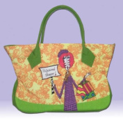 DOLLY MAMA Zippered Tote PROFESSIONAL SHOPPER
