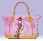 DOLLY MAMA Zippered Tote OLDER, WISER, SEXIER