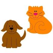 Accucut SlimLine Die - Cuddly Kitty & Rover