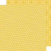 Bella Blvd Sprinkles and Lace Paper, Banana