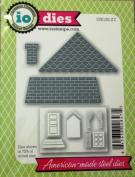 Impression Obsession io Steel Die # DIE120-ZZ Square House Die US American Made