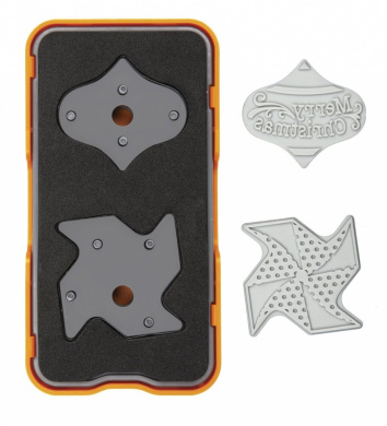 Fiskars 102440-1001 Die Cut Design Set, Mini, Ornaments