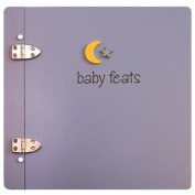 Baby Feats Scrapbook Journal by Jack Scrapbooks - Blue