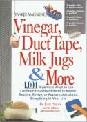 Rodale Books-Vinegar, Duct Tape, Milk Jugs & More
