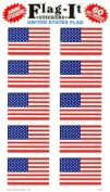 United States Flag Self-Adhesive Flag Stickers