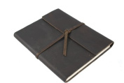 Genuine Leather Writer's Notebook - Hand made in the USA