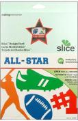 Making Memories Slice Design Card All Star