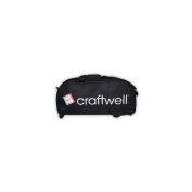 eCraft Travel Bag with Wheels - Black