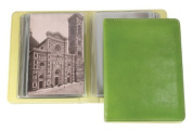 Leather Cover Photo Album - Green