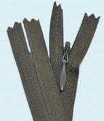 23cm Unique Invisible Zipper (Special) ~ Conceal ~ Invisible ~ Dark Olive