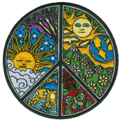 Dan Morris - Peace - Embroidered Patch