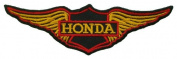 Honda Twin Wing Motorcycles Vintage Biker BH07 Sew Iron on Patches