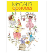 McCall's Patterns M5904 Children's/Girls' Fairy Costumes, Size CDD