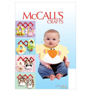 McCall's Patterns M6661 Bibs Sewing Template
