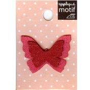 Butterfly Design Small Iron-on Applique