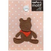 Little Bear Design Small Iron-on Applique