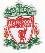 Liverpool Football Club FC Embroidered Iron on Patch
