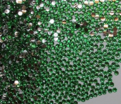 2,500pc Flatback Rhinestones Round 2mm Perfect for Nails Arts - Peacock Green By Pixiheart